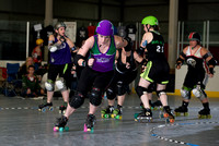 Queen of the Rink: The Royal Ruckus Tournament - Bout 3